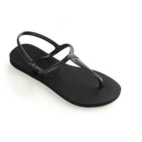 havaianas Twist Sandalen Dames, zwart